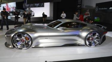 Mercedes AMG Vision side profile