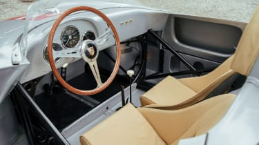 Porsche 550A Spyder - dash