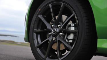 Mazda MX-5 Sport Black alloy wheel
