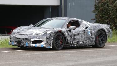 Ferrari F171 spy 2021 – front quarter 3
