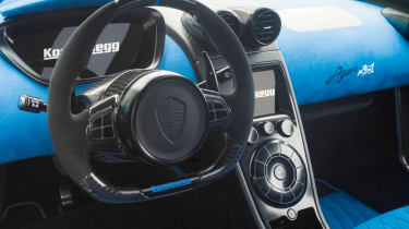 Koenigsegg Agera RS1 - Steering wheel