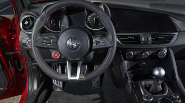 Alfa Romeo Giulia Quadrifoglio - Steering wheel