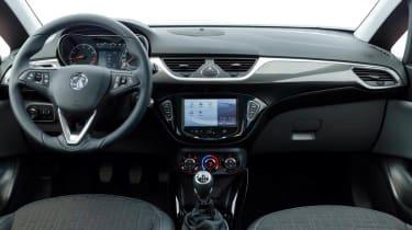 New Vauxhall Corsa interior dashboard