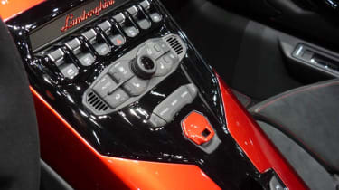 Lamborghini Aventador J dashboard