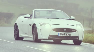 Jaguar XKR-S Convertible video