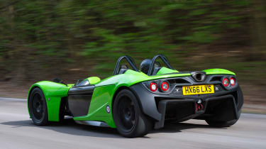 Elemental RP1 rear tracking