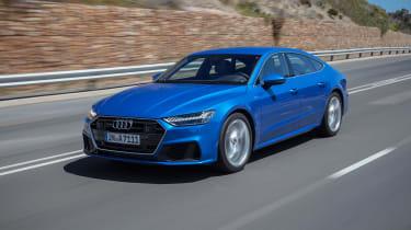 Audi A7 – front quarter
