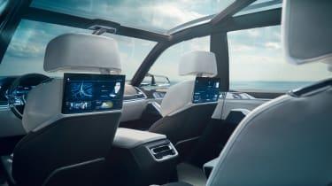 BMW X7 Concept - interior rear