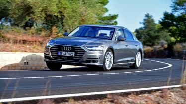Audi A8 - front quarter dynamic