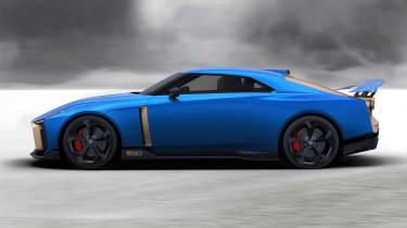 Nissan GT-R50 profile