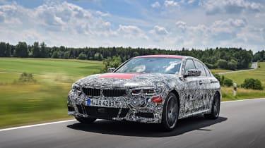 2019 BMW 3-series teaser - front