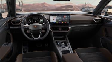 Cupra Formentor VZ5 revealed interior