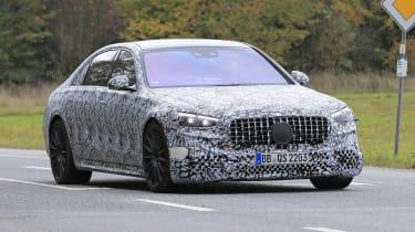 Mercedes-AMG S63 2021 spy nose
