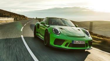 Porsche 911 GT3 RS 991.2 - tracking