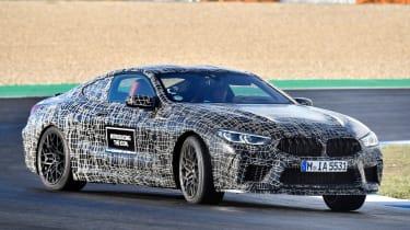 BMW M8 prototype - sliding