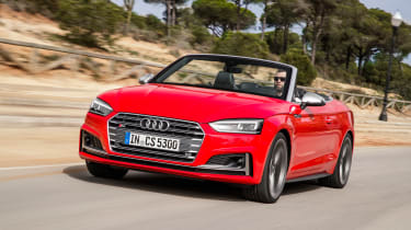Audi S5 Cabriolet - front tracking