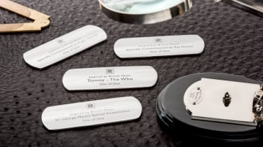 Rolls-Royce Wraith Inspired by Music - sill plates