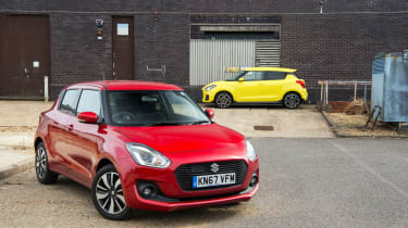 Suzuki Swift SZ5 and Sport