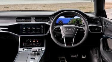 Audi A7 Sportback TDI interior
