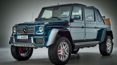 Mercedes-Maybach G650 Landaulet - front three quarter