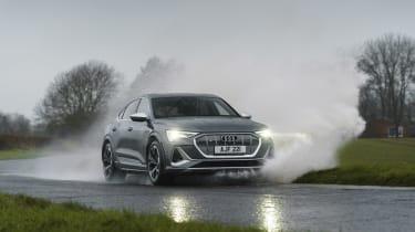 Audi e-tron S Sportback - splash