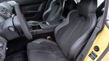 Aston Martin V12 Vantage S front sports seats