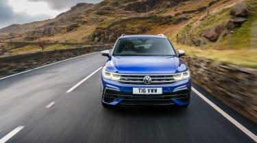 Volkswagen Tiguan R – tracking nose