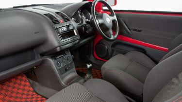 Volkswagen Lupo GTI – interior