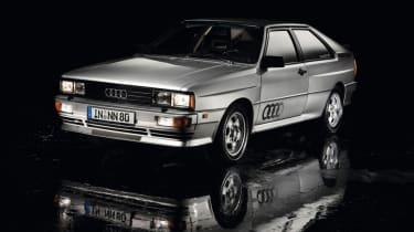 Audi Quattro - front quarter