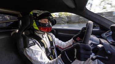 Porsche 718 Cayman GT4 RS proto –driver