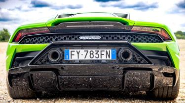 Lamborghini Huracán Evo RWD – rear bumper