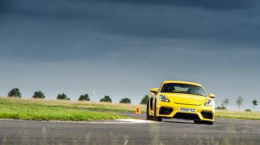 Porsche 718 Cayman GT4 track
