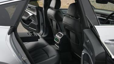 Audi A7 Sportback TDI rear seats