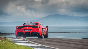 Ferrari 458 Speciale on track at Anglesey: video review
