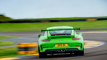 Porsche 911 GTs - rear sliding