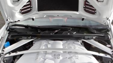 Aston Martin V12 Vantage Roadster engine
