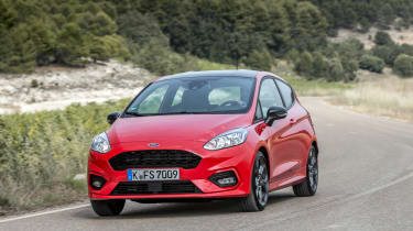 Ford Fiesta ST-Line - Front driving