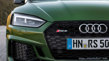 Audi RS5 - front detail