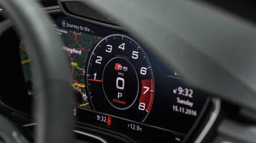 Audi S5 Sportback virtual cockpit