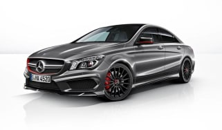 Mercedes CLA45 AMG Edition 1 front grey