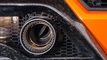 Lamborghini Huracan Performante – exhaust