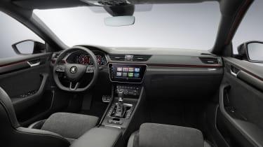 Skoda Superb facelift - interior