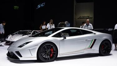 Frankfurt Motor Show 2013: Lamborghini Gallardo Squadra Corse