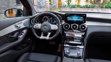 2019 Mercedes-AMG GLC 43 coupe interior