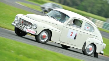 Volvo Amazon on the Tour Britannia