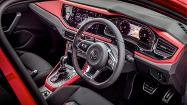 Volkswagen Polo 6 GTI - interior