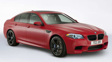 New BMW M5 M Performance Edition frozen red