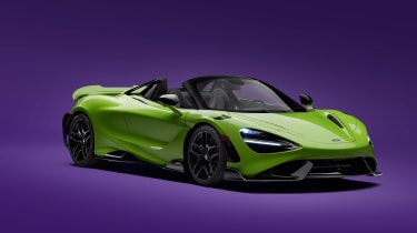 McLaren 765LT Spider – front quarter
