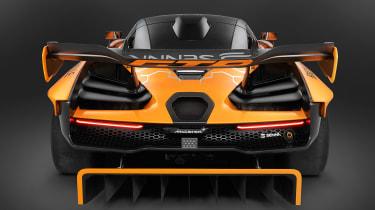 McLaren Senna GTR - rear deck