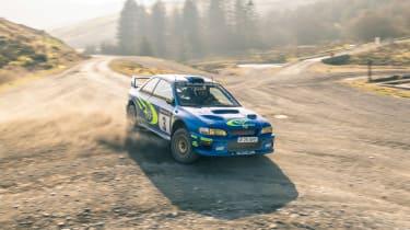 Subaru Impreza S6 WRC – sideways